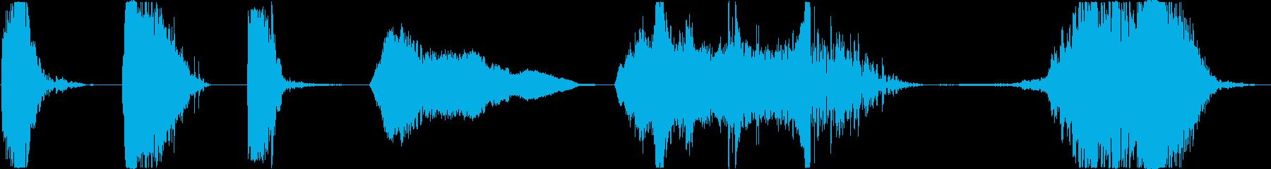 パワフルなフラッシュバックフーシュ...の再生済みの波形