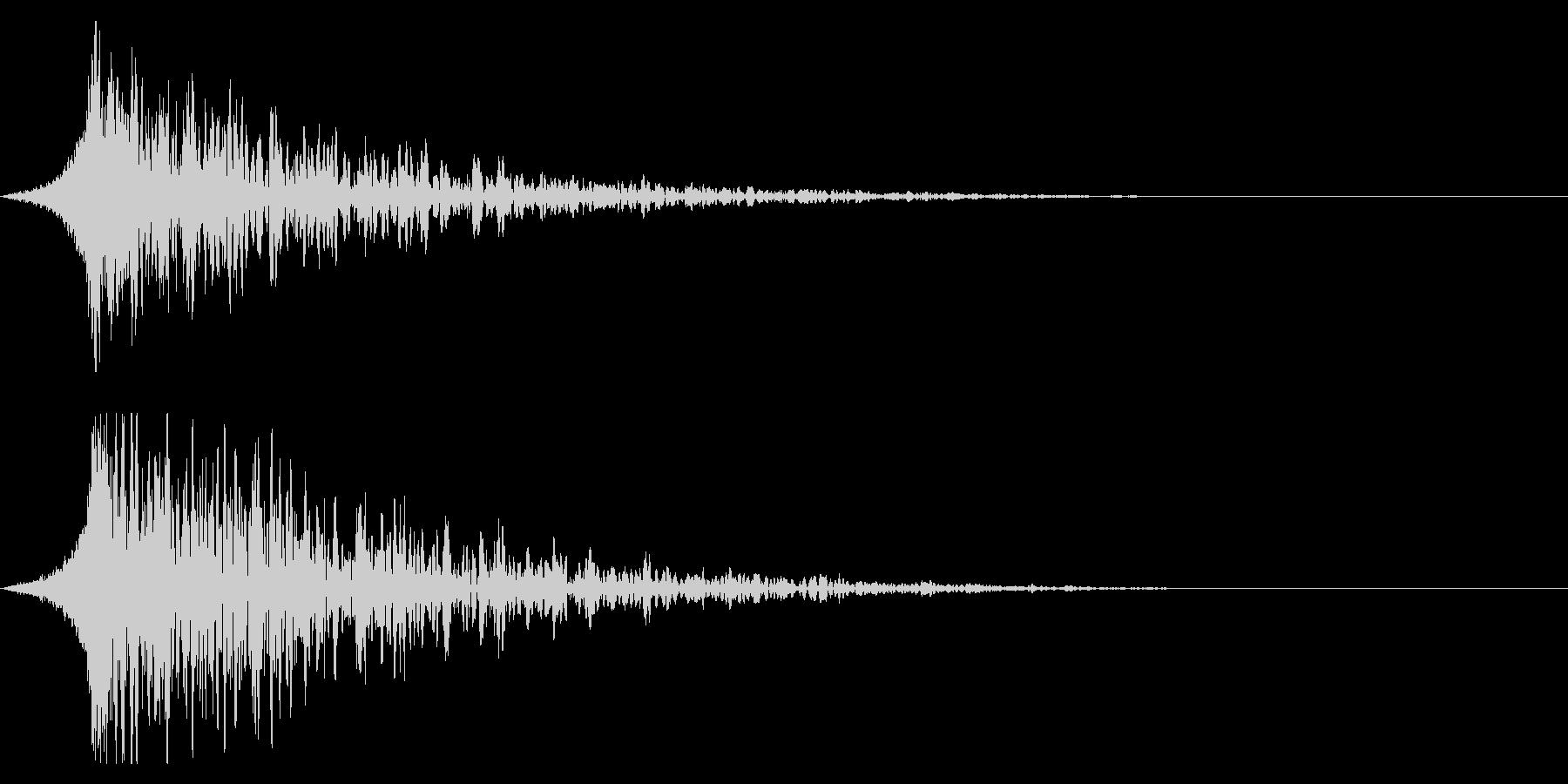 シュードーン-19-3 (インパクト音)の未再生の波形