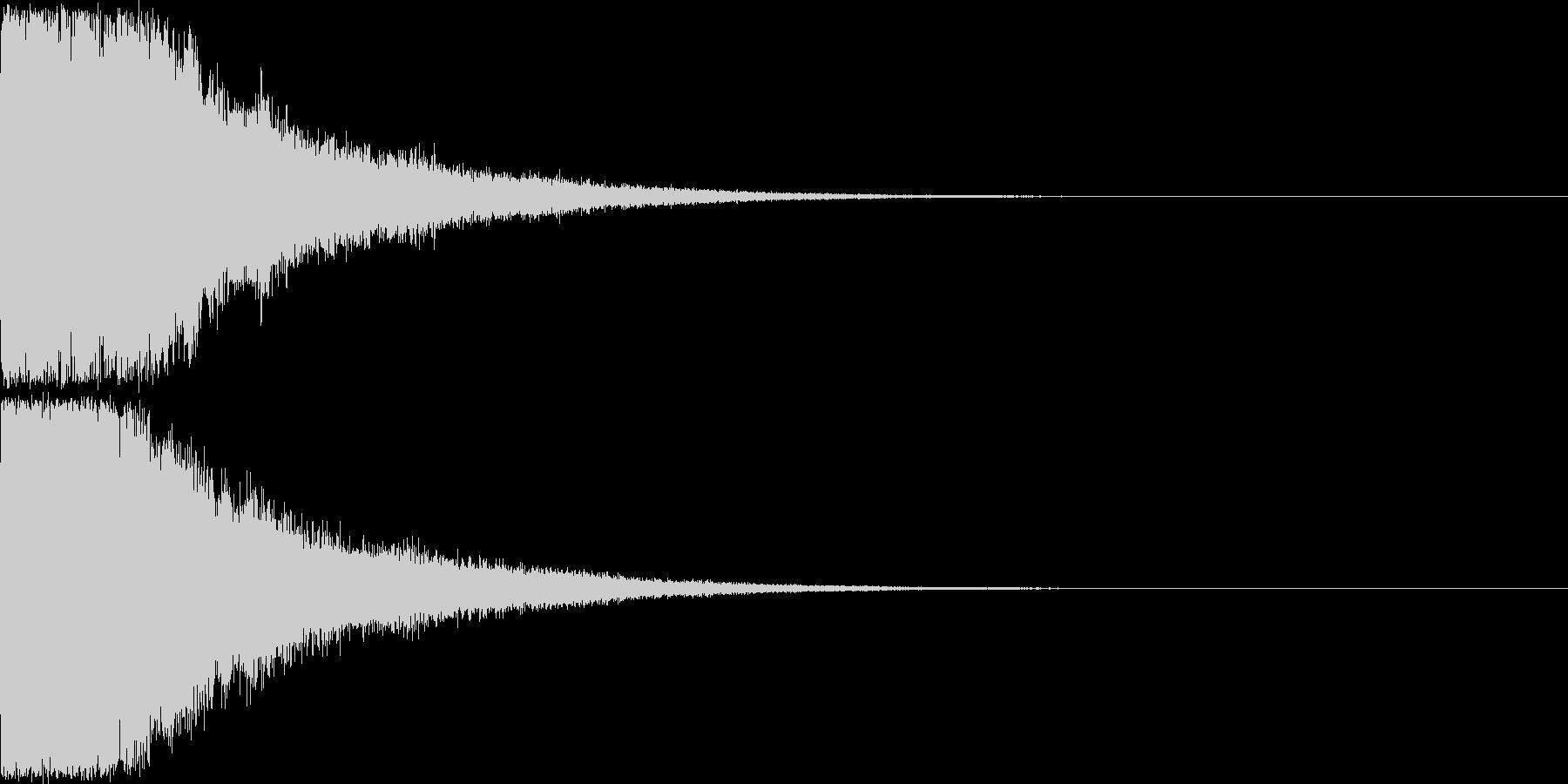 刀 剣 ソード カキーン キュイーン32の未再生の波形