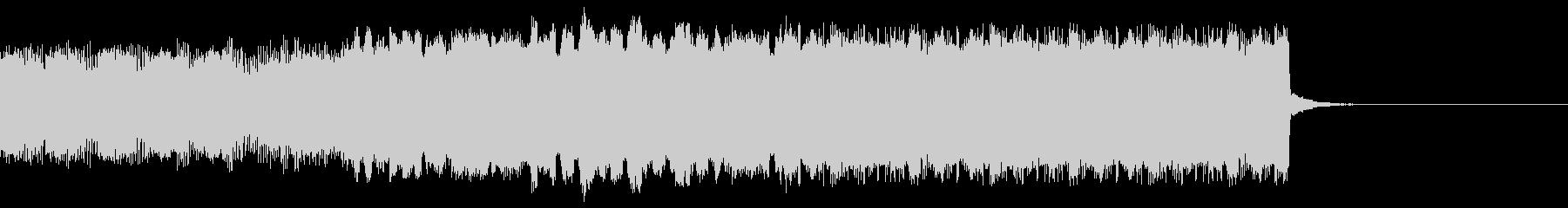 パチンコ的メロディインパクト音02の未再生の波形