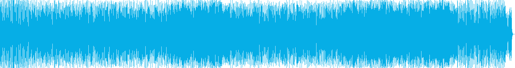 ハウス寄りポップスの再生済みの波形