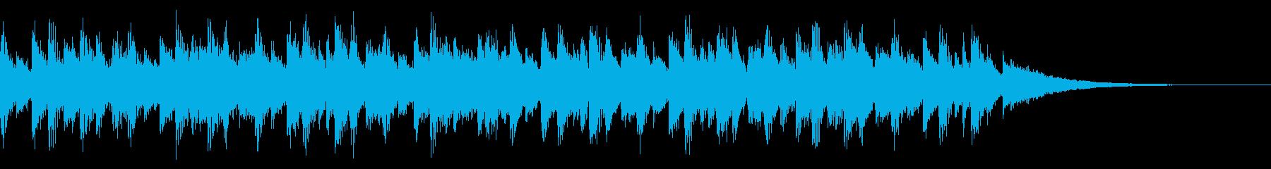 CM映像:近未来的高速ビート15secの再生済みの波形