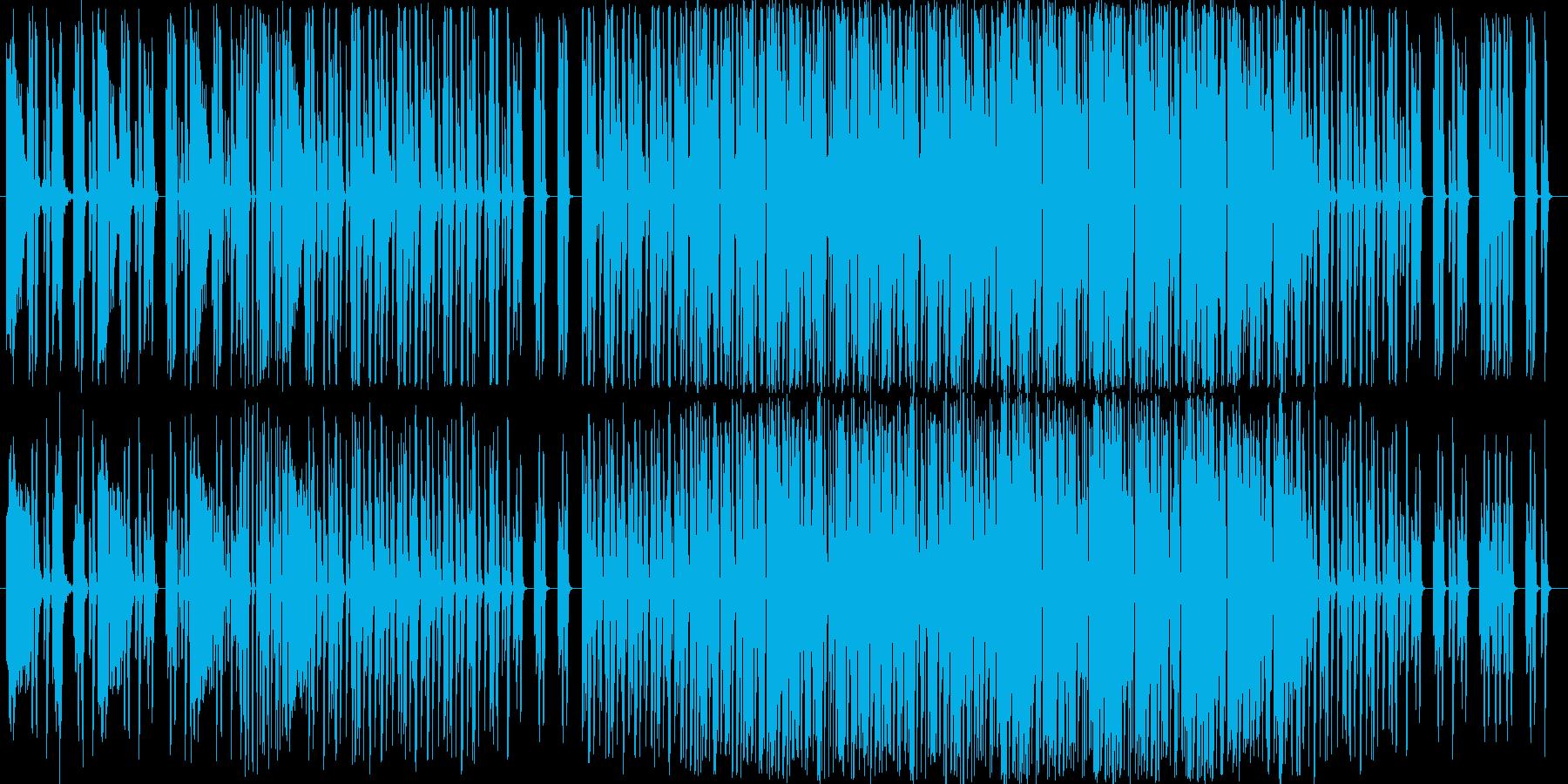 ミニマルテクノです。主にカオシレーター…の再生済みの波形