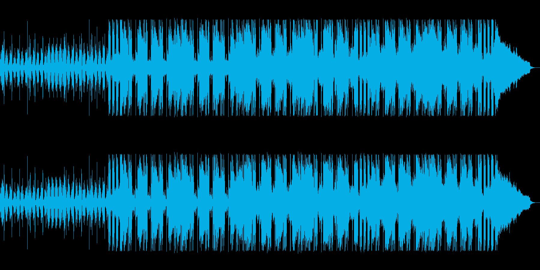 洗練されたオシャレなテクノポップの再生済みの波形