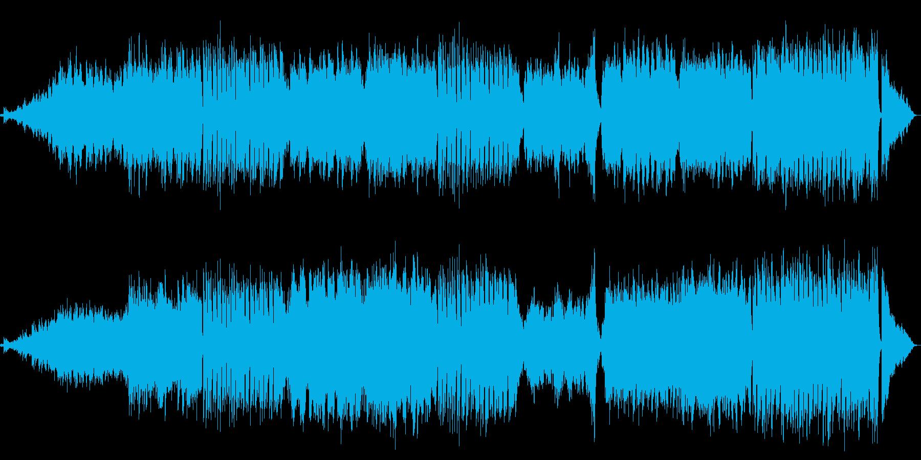 透明感のある爽やかなスローポップスBGMの再生済みの波形