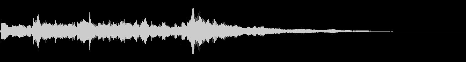 エレキギターのアルペジオです。の未再生の波形