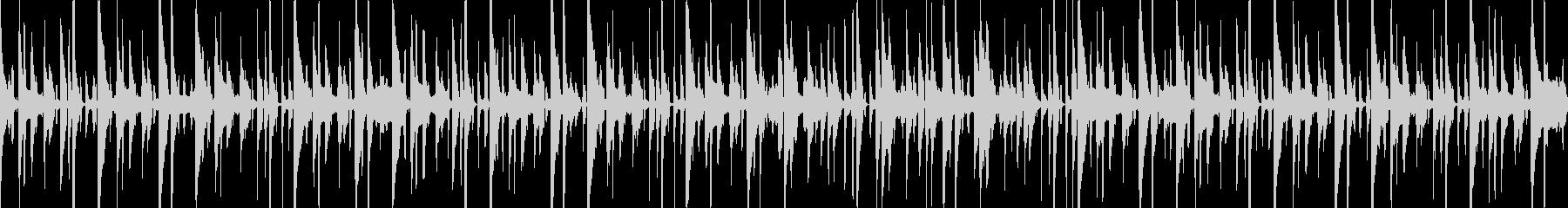 ゆったりとしたほのぼのファンクの未再生の波形