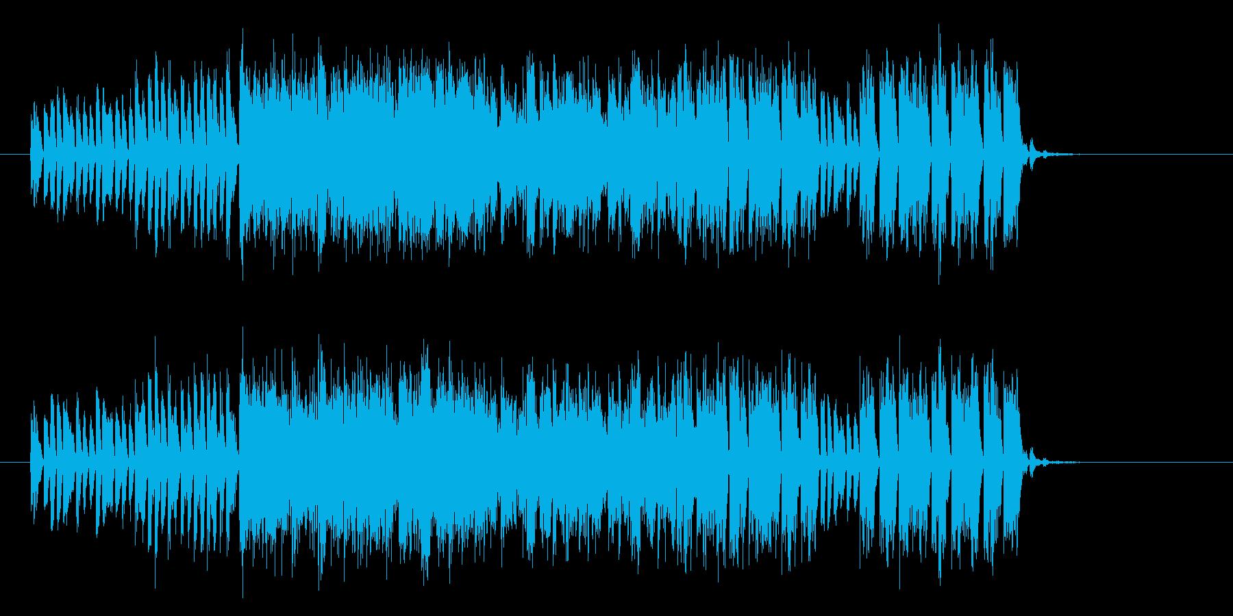 緊迫感漂うエレクトリックサウンドの再生済みの波形