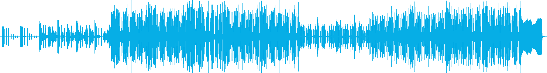 推進力のあるテクスチャー系の再生済みの波形