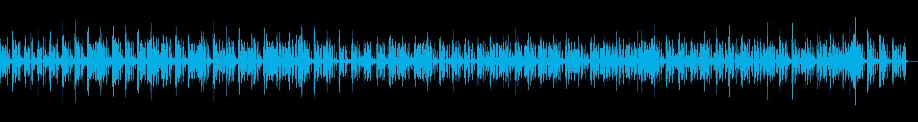ベースリフ主導リラックスPFジャズの再生済みの波形