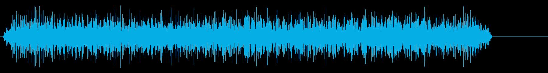 色調ズーム-電波-高の再生済みの波形