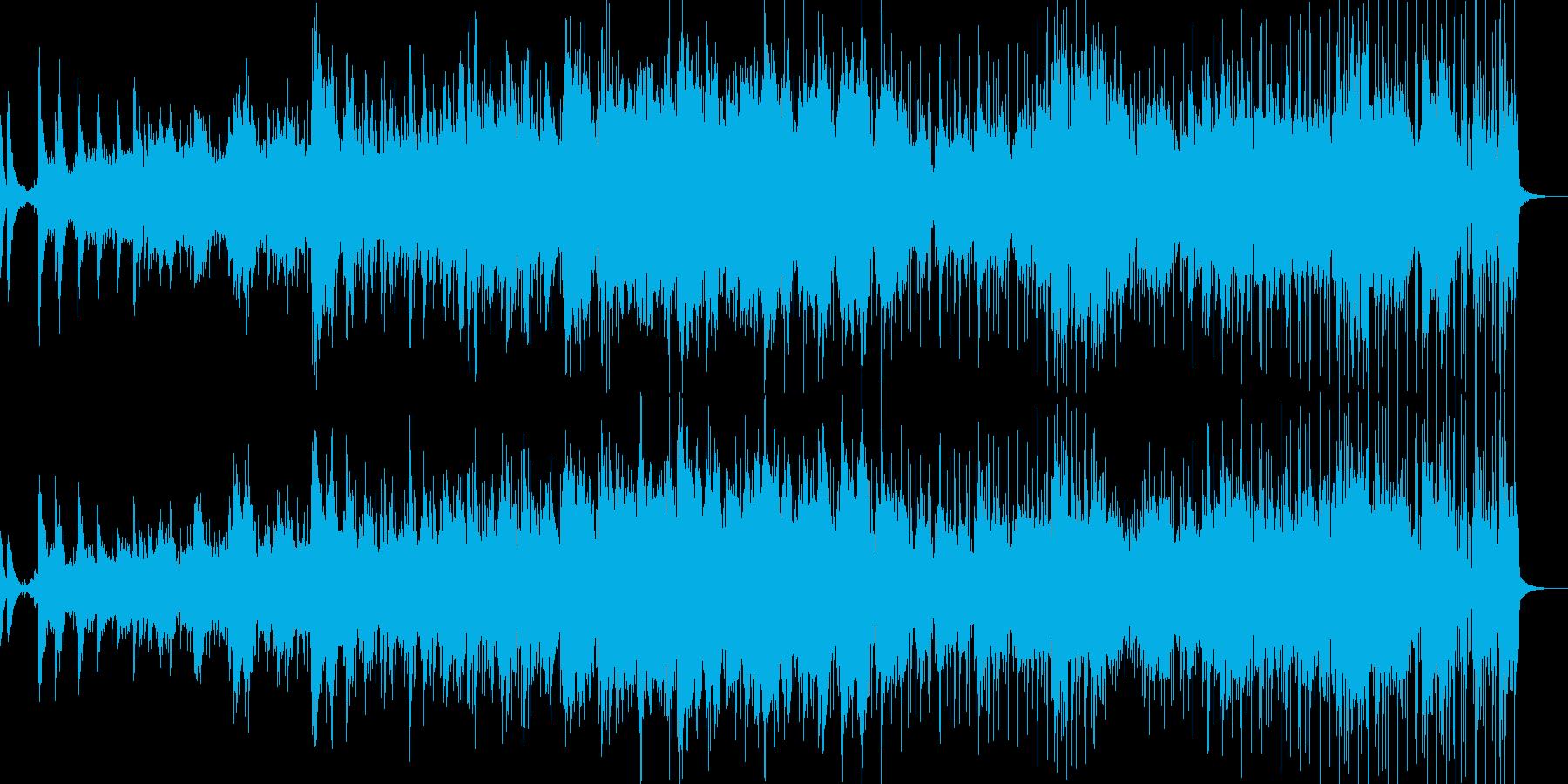 アンビエントジャズー白夜の再生済みの波形