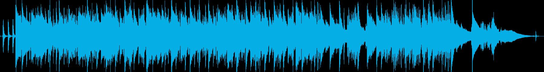 アコーディオンのおしゃれ3拍子ジャズの再生済みの波形