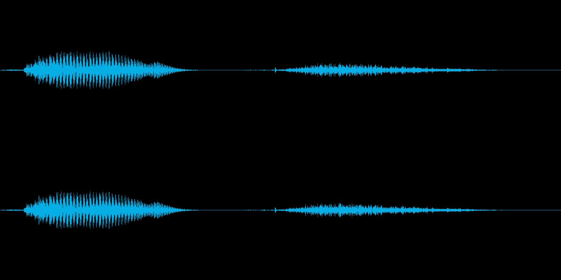 1 (いち)の再生済みの波形