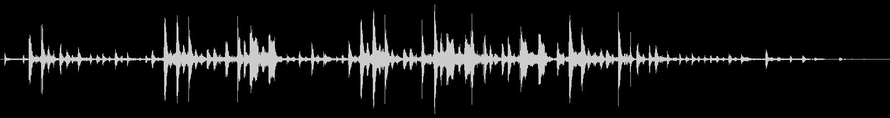 シリアス音4の未再生の波形