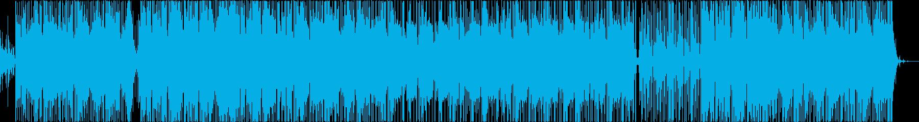 ストリート 混沌 HIPHOP サイレンの再生済みの波形