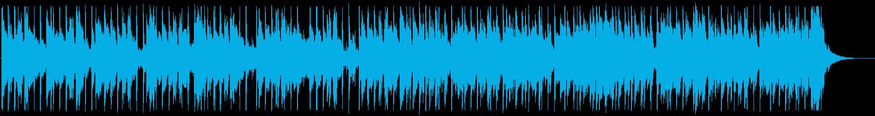 涼しげな夏のカフェBGM_No584_3の再生済みの波形