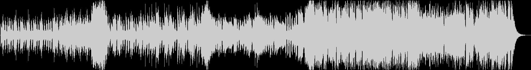 可愛らしくメルヘンな木琴BGMの未再生の波形
