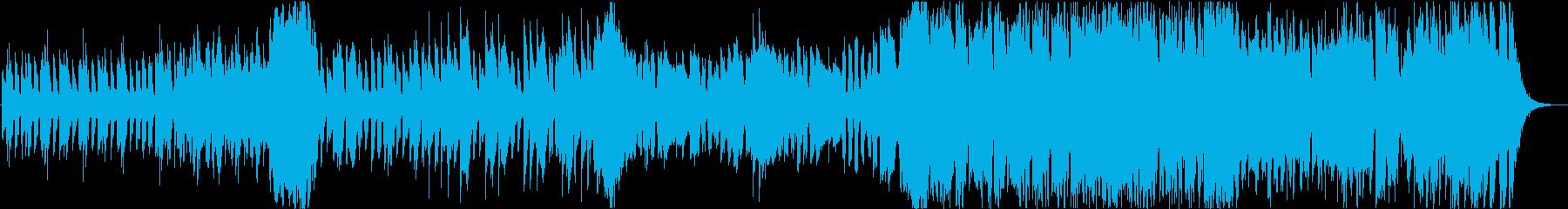 可愛らしくメルヘンな木琴BGMの再生済みの波形