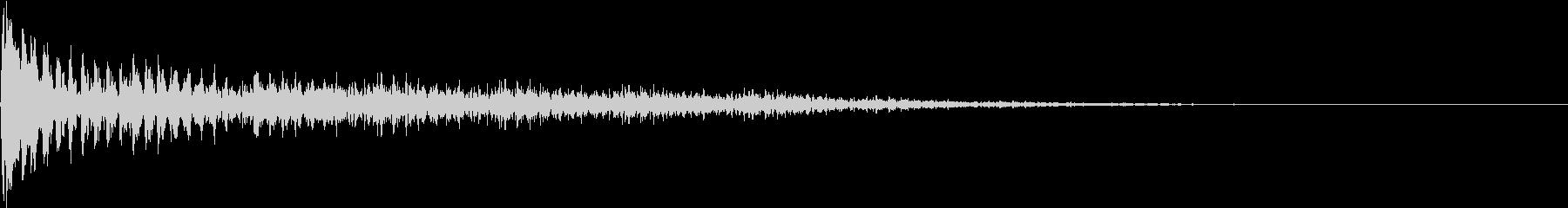 TVFX ビヨーンとヘンテコなSE 1の未再生の波形