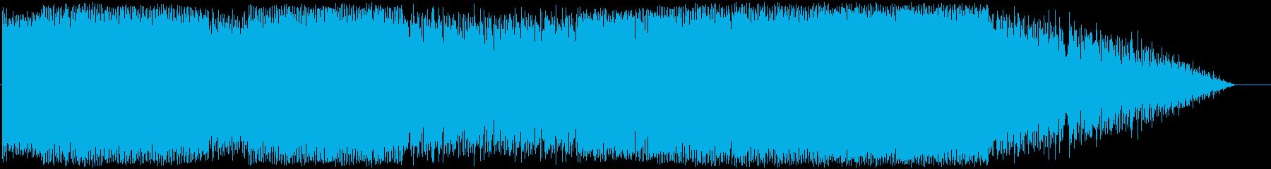 スチームパンク的エレクトロックの再生済みの波形
