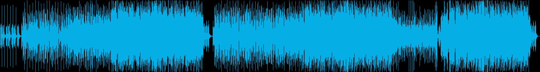 アニメ主題歌風エレクトロポップ_女性Voの再生済みの波形