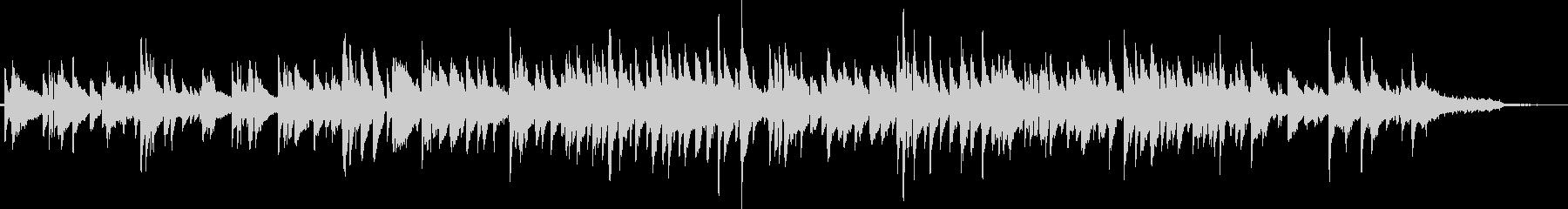 ギターデュオによるしっとりしたボサノバの未再生の波形