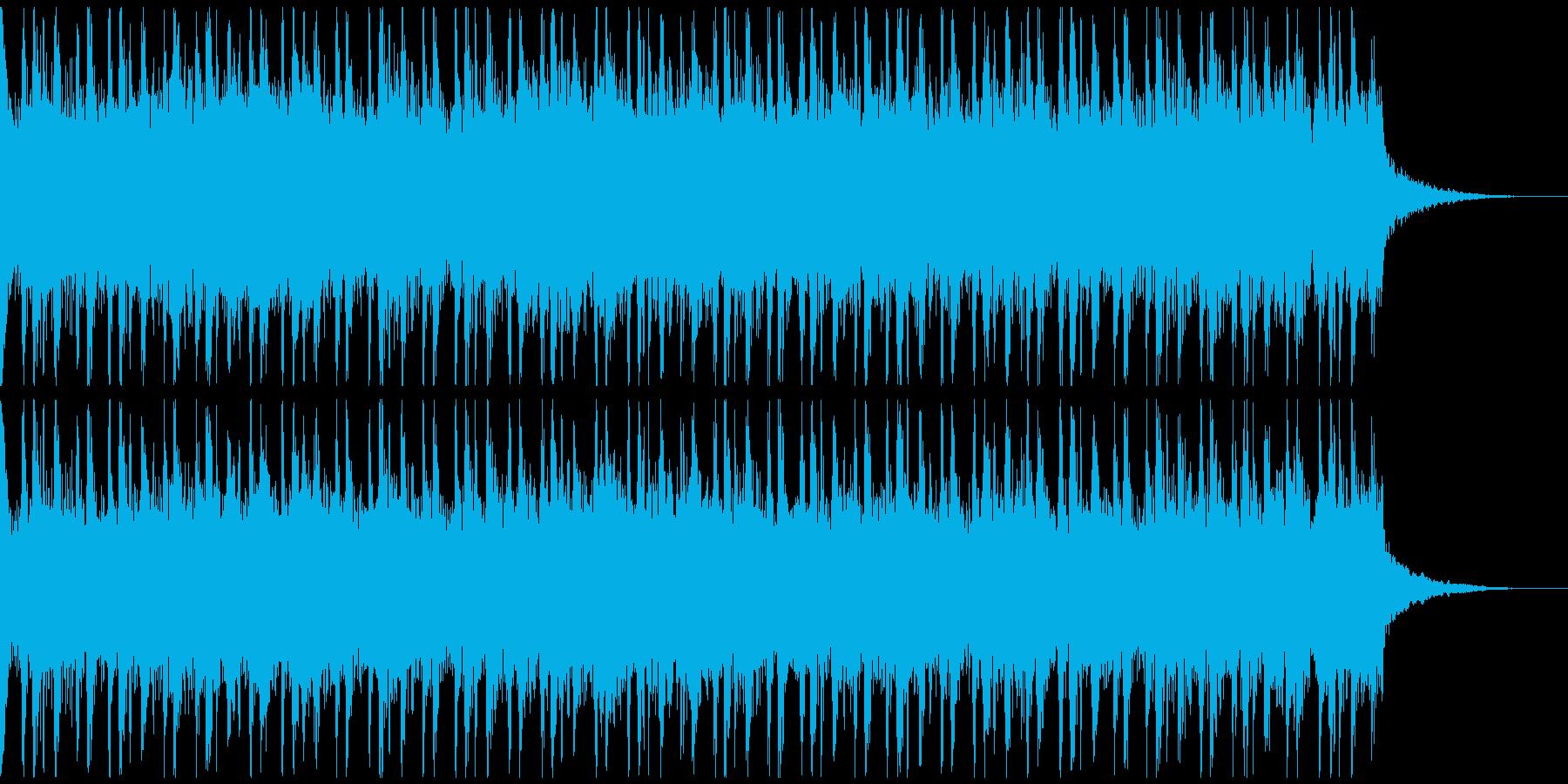 激しいラウドロック、予告、広告verB の再生済みの波形