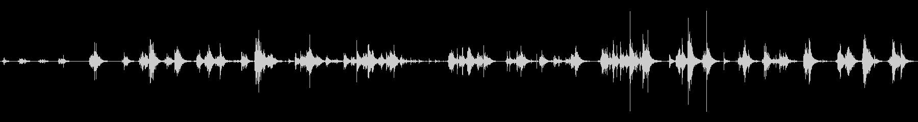 【生録音】水のちゃぷちゃぷ音(癒し)の未再生の波形