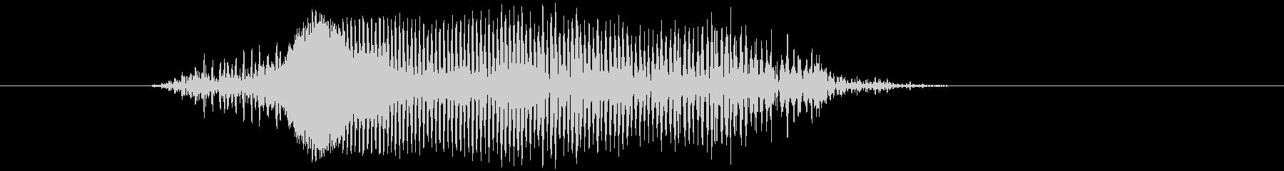 鳴き声 男性コンバットヒットハード05の未再生の波形