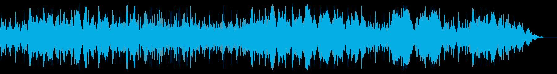 ファンタジーRPGの港町をイメージした曲の再生済みの波形