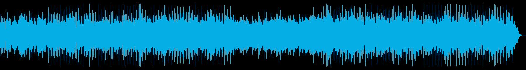 可愛いらしい明るい曲(CM・VLOG)の再生済みの波形