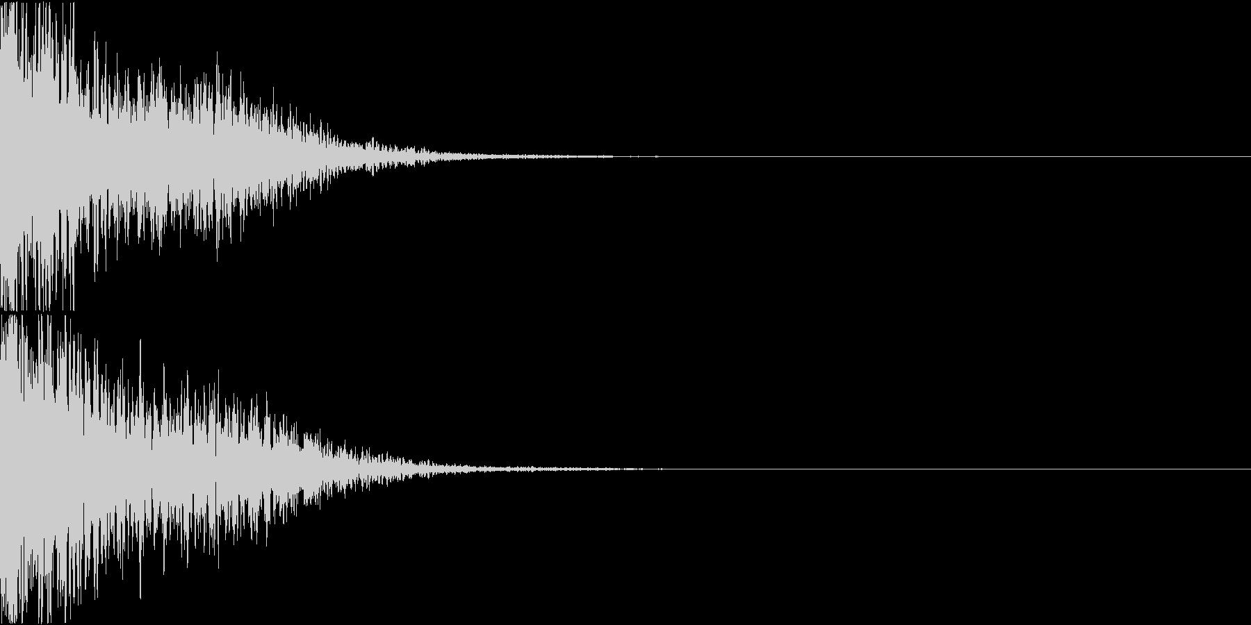 ロボット 合体 ガシーン キュイン 03の未再生の波形