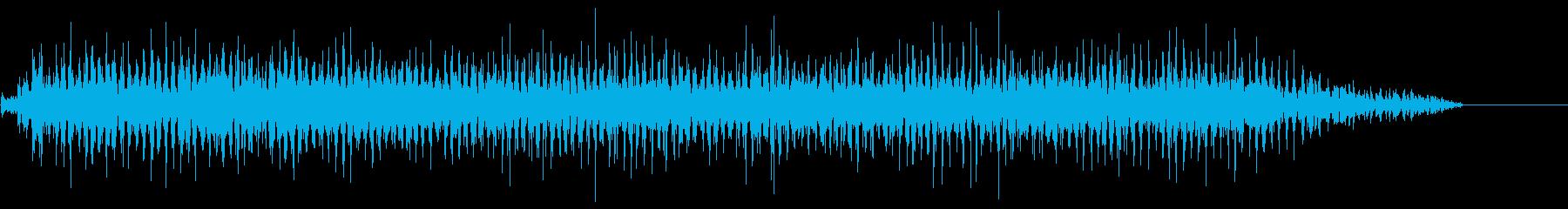 クリスマスそりのベルが鳴る(高速)の再生済みの波形
