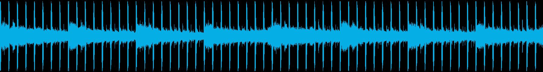インタビュー(ループ-30秒)の再生済みの波形
