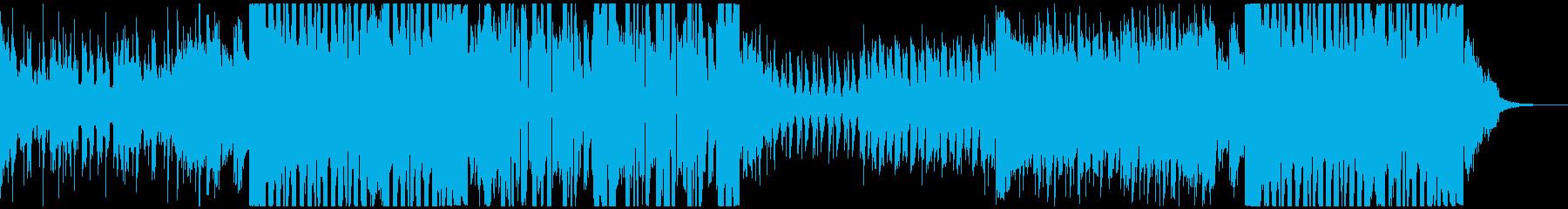 企業 PV系 爽やかな洋楽風EDMの再生済みの波形