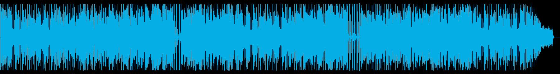 アシッドジャズ風のブラスの再生済みの波形