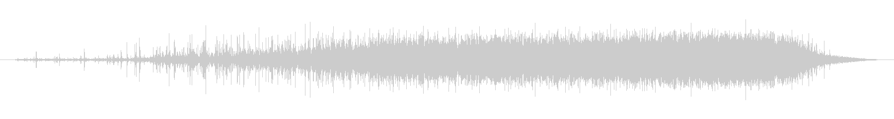 素材 レインスティックシングル03の未再生の波形