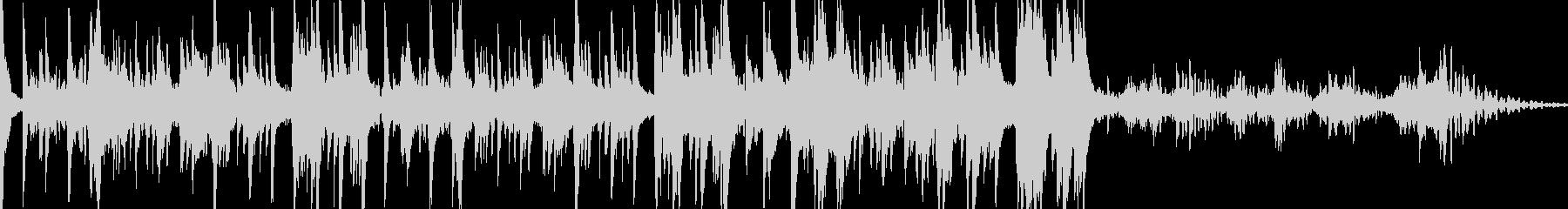 スパースピアノとクールなきらめくシ...の未再生の波形
