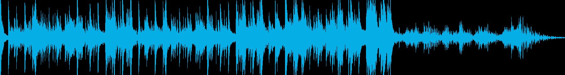 スパースピアノとクールなきらめくシ...の再生済みの波形