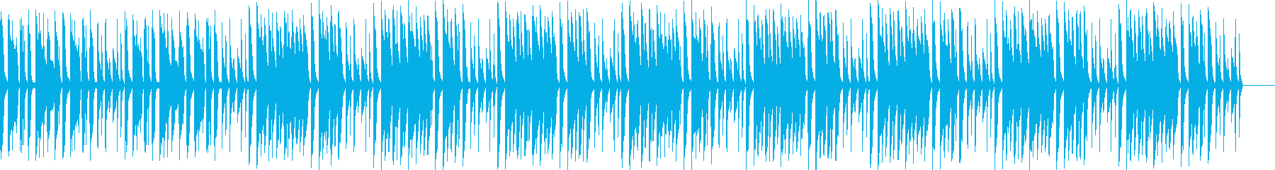 ほのぼの系ふにゃふにゃかわいいBGMの再生済みの波形