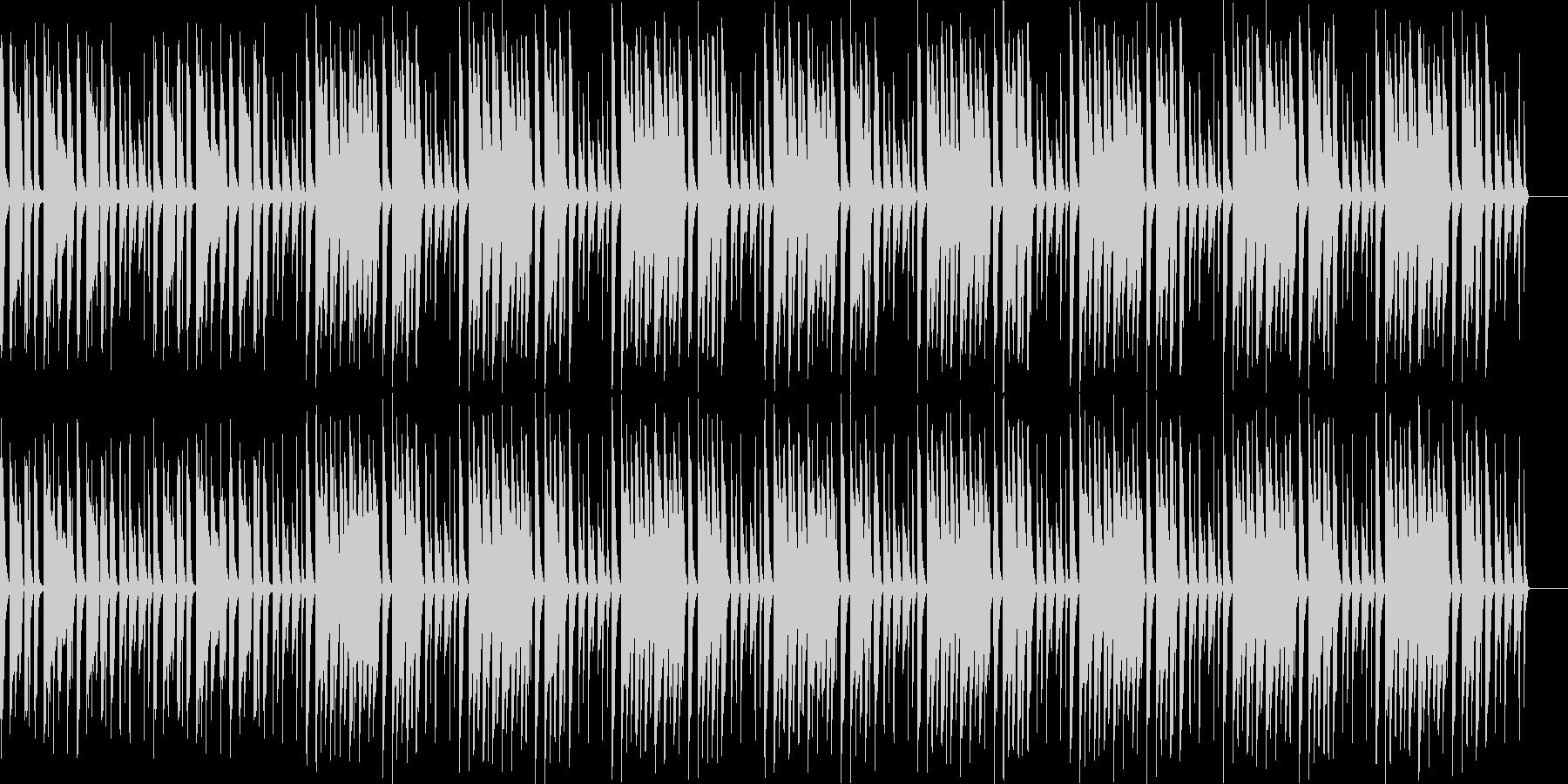 ほのぼの系ふにゃふにゃかわいいBGMの未再生の波形
