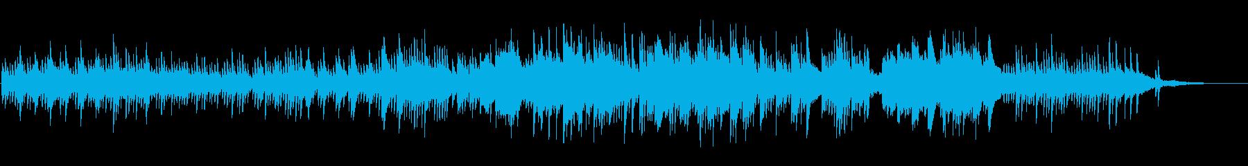 化粧水CMVP女性系透明爽やか(ピアノ)の再生済みの波形