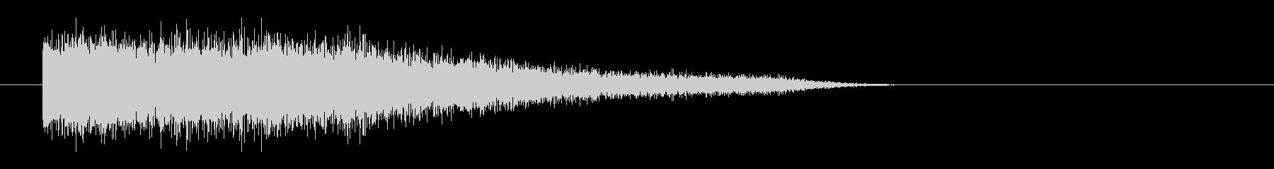 レーザー音-83-3の未再生の波形