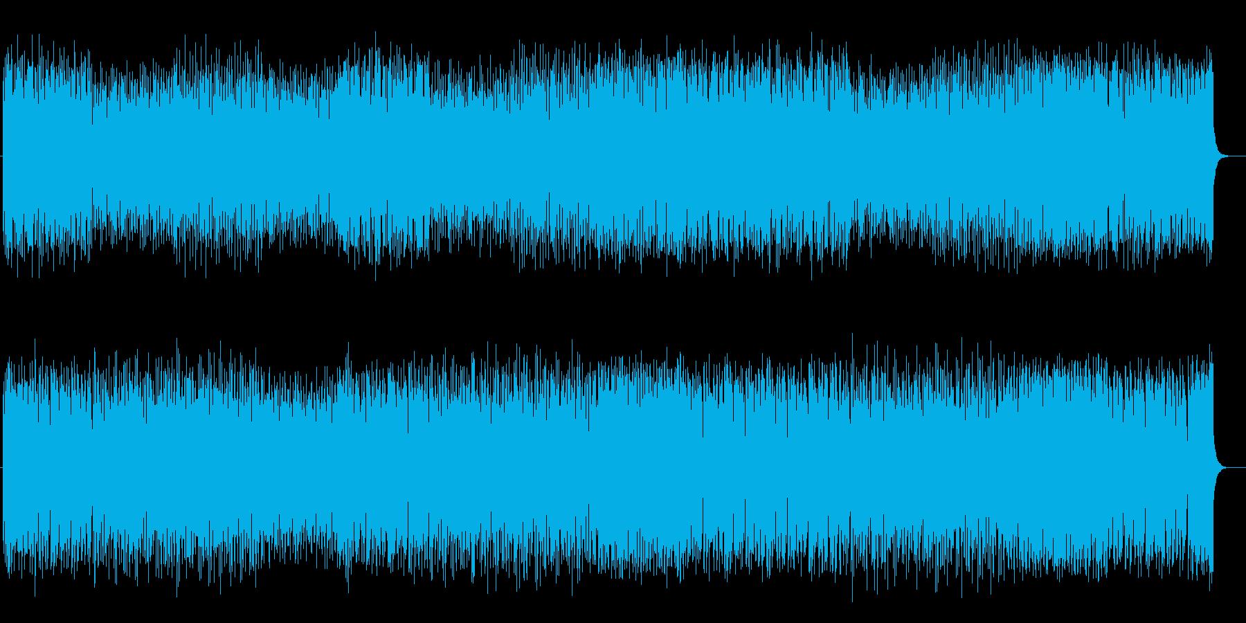 疾走感溢れるリズミカルなシンセポップスの再生済みの波形