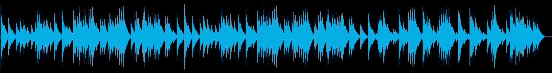 電話 保留音01-3(G線上のアリア)の再生済みの波形
