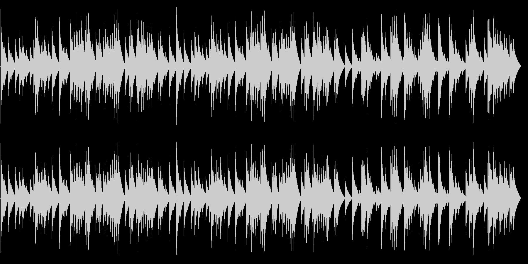 電話 保留音01-3(G線上のアリア)の未再生の波形