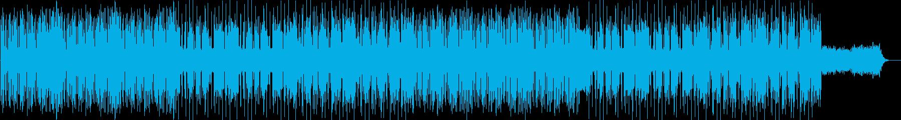 オシャレなUKガラージBGMの再生済みの波形