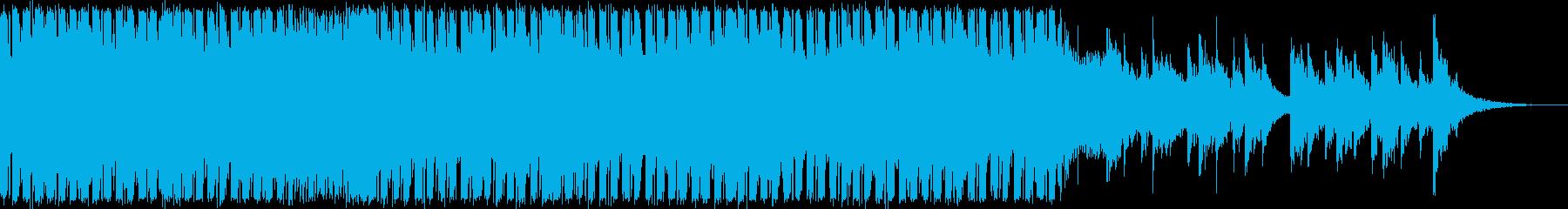 爽やかなトランスの再生済みの波形
