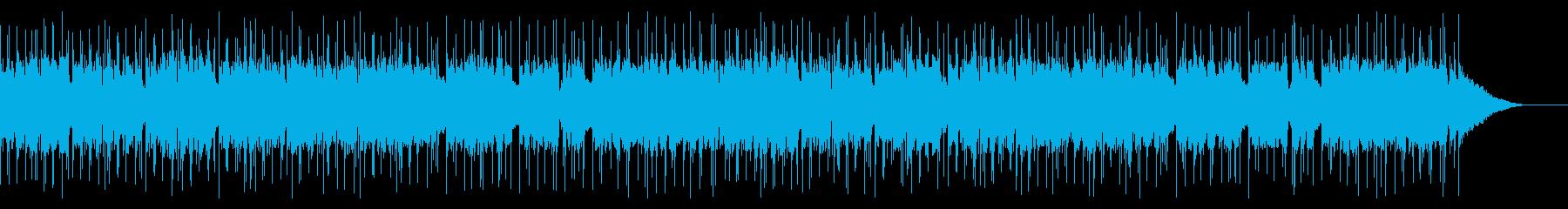 のんびり穏やかな日常をイメージしたBGMの再生済みの波形
